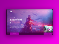 Daily UI - Day 3 Landing Page