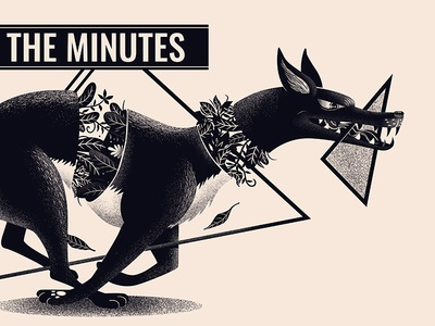 The Minutes gig poster