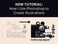 How I Use Photoshop to Create Illustrations