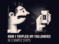 New blog post - X3 Followers