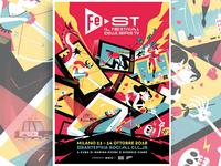 Milan's TV Festival Poster