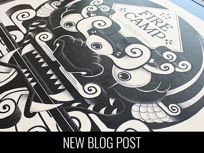 New Blog Post editorial blog post design illustration