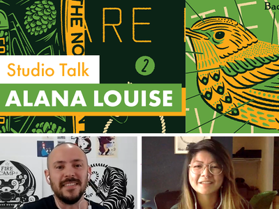 Studio Talk with Alana Louise branding logo design print illustration channel youtube vlog
