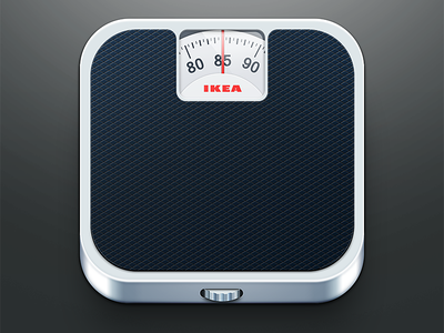 Ios icon scale icon ios iphone weight
