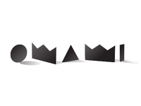 Omami. Logo development for a blog about design.