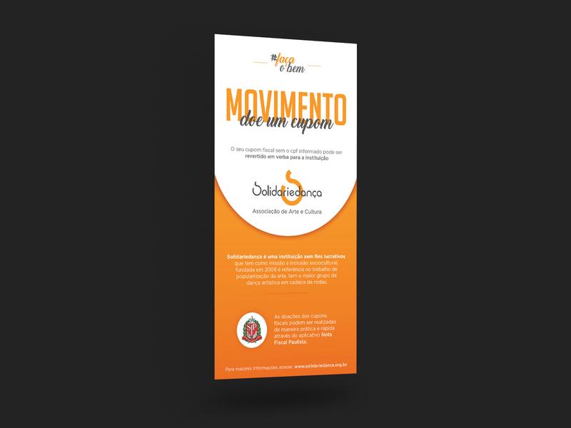 Solidariedança mockup design graphic design ong mockup design 2019