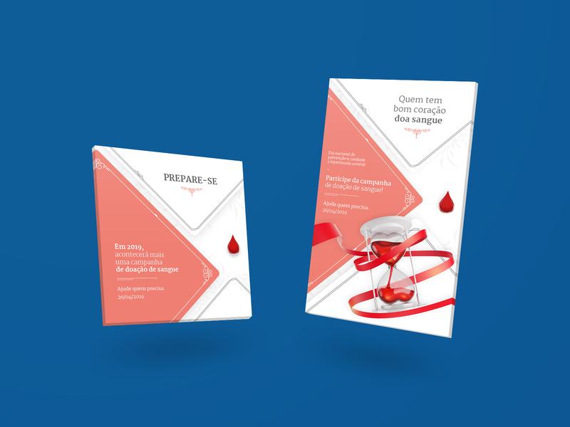 Doação de Sangue new medical blood healt design art 2019 mockup design mockup design