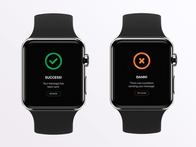 Day 11: Flash Messages messages flash 100daychallenge adobexd watch uxdesign uidesign 011