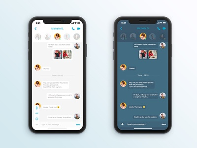 Day 13 - Direct Message messenger message app ios apple adobexd design userinterface app uidesign uxdesign 100daychallange