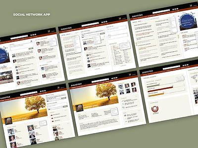 Evoketive App design uxui