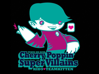 Cherry Poppin Super Villains