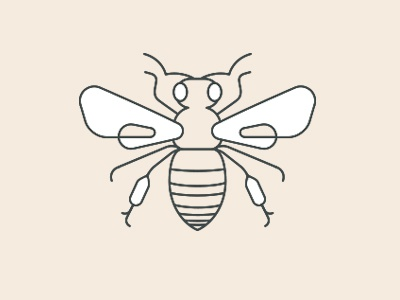 Folklore Icon bee icon nature insect