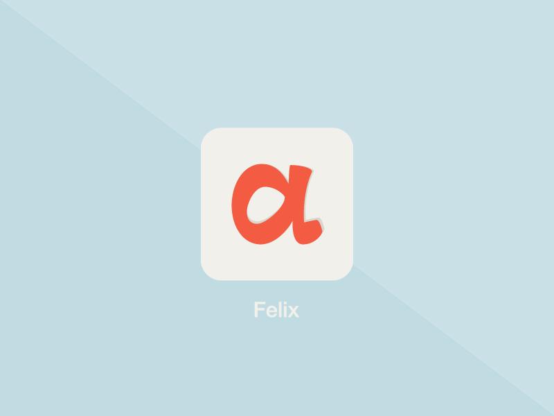 Felix Icon ios icon app.net alpha felix app orange