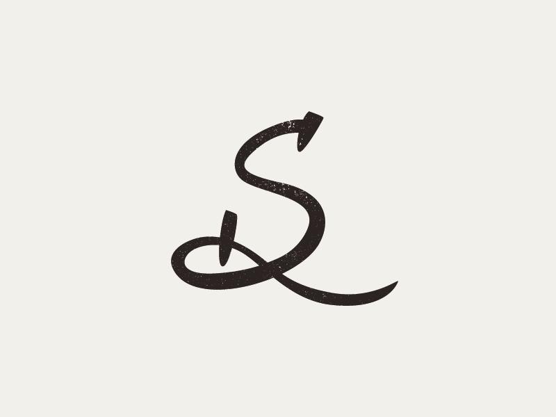 SD Monogram monogram icon lettering sd