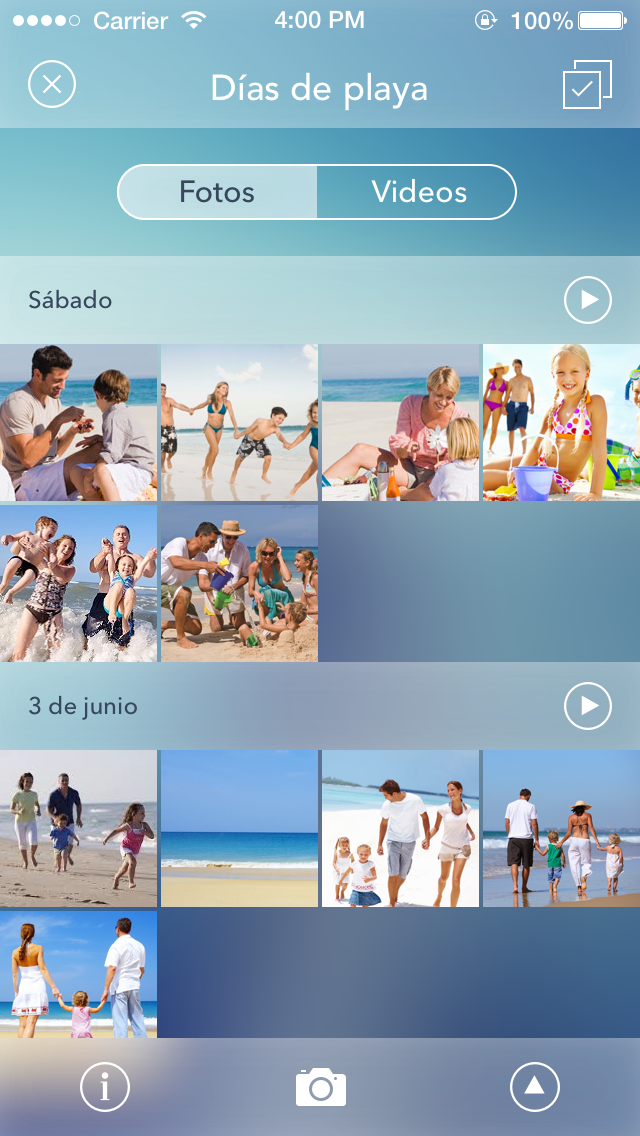 Momento app