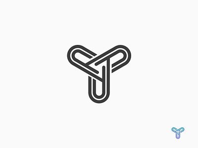Y triangle black icon letter mark symbol logo y