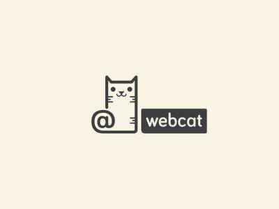 Webcat logo cat web webcat arroba at logotype logotipo brand