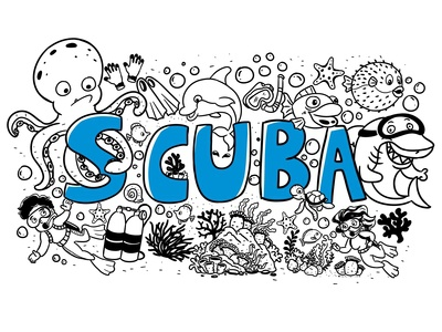 Scuba Doodle