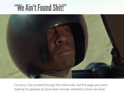 SpaceBalls 404 html5 video spaceballs comb the desert wordpress 404 we aint found shit
