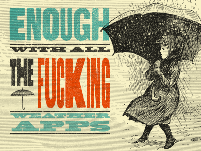 Partly Hateful with a 70% Chance of Backlash weather app ios weather app app design