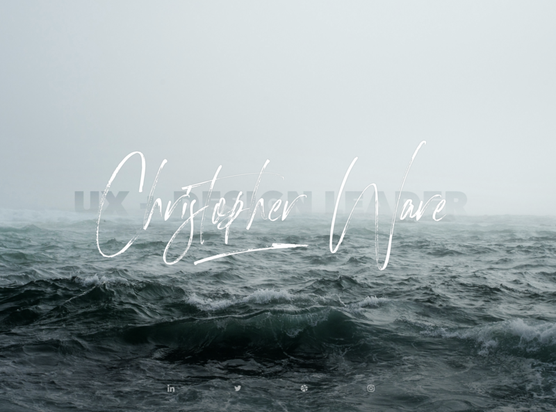 Wave placeholder waves signature