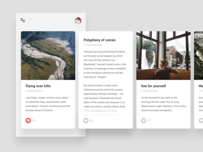 Story card exploration for String