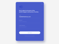 Sign Up - Daily UI 001