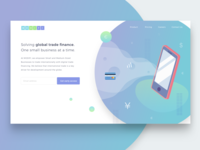 Daily UI Challenge #003 Landing Page