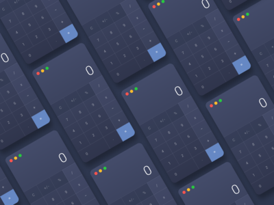 Calculator Daily UI#004 -