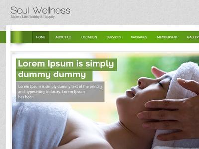 Soul Wellness Homepage