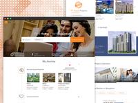 Desktop Homepage UI