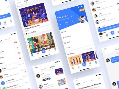 UI China App ux ui icon design app