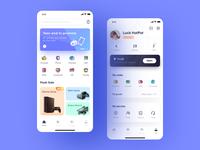 Rental platform App illustration mobile ux ui icon design app