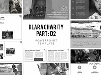 Powerpoint  Template Dlara Charity Version 2