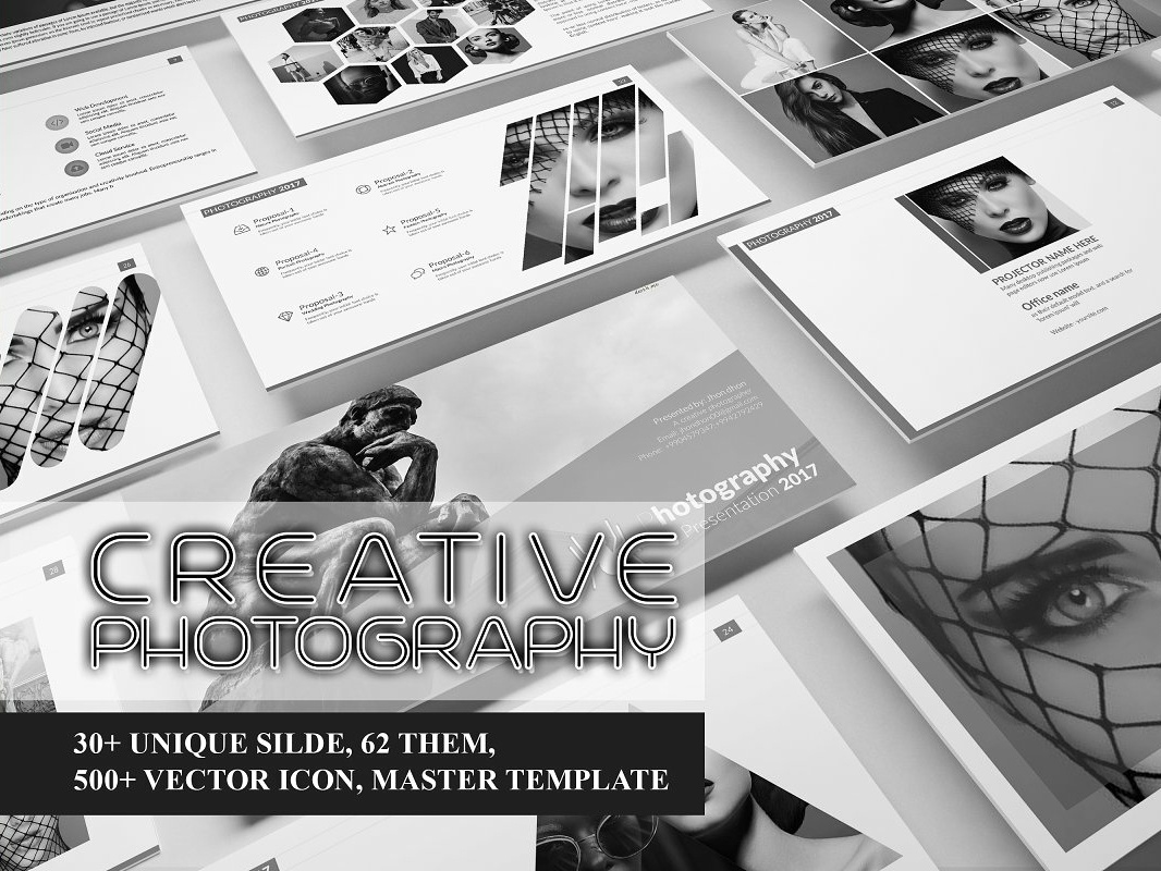 Powerpoint creative photography ppt templete pptx chart minimal powerpoint cool powerpoint templates investor best