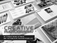 Powerpoint Creative Photography PPT templete [PPTX]