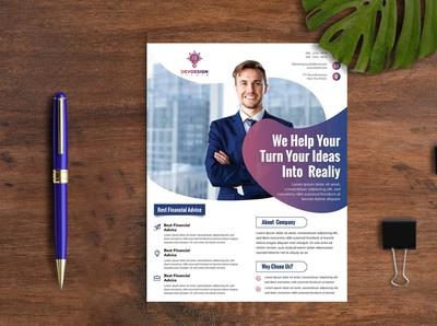 Malti  Purpose Business flyer