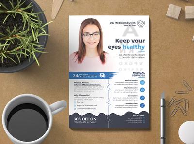 Modern Medical   Healthcare Flyer