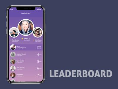 Leaderboard Design UI