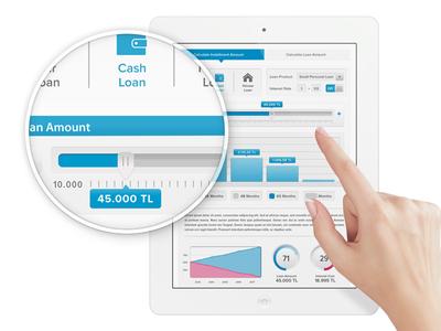 Mobile Bank App infographic banking mobile finance ipad app slider