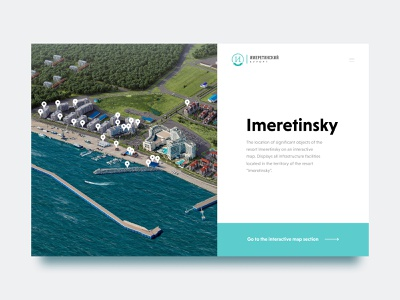 Imeretinsky fullscreen туризм travel booking hotel site website
