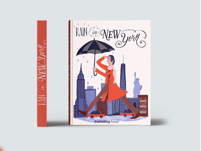 Book cover Rain in New York