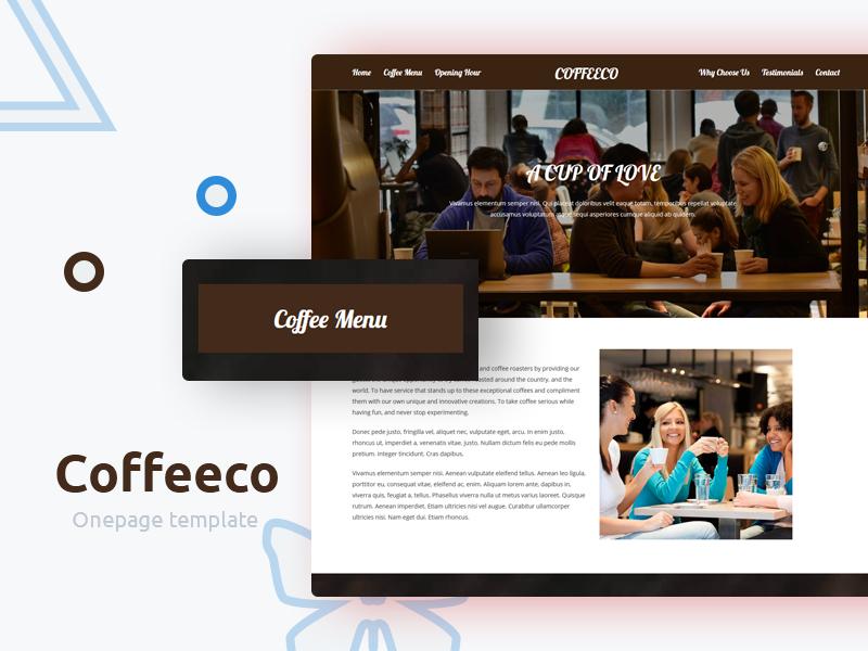 Coffeeco – Free Responsive Coffee Shop HTML Template free template shop seafood restaurant menu food drink creative cooking coffee bar bakery