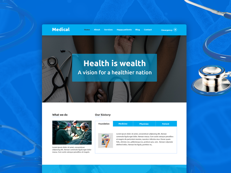 Medino – One page Medical PSD Template - Freebie pharma health medical freebee free psd free-template free-download free freebies psd-freebie psdfreebies freebie