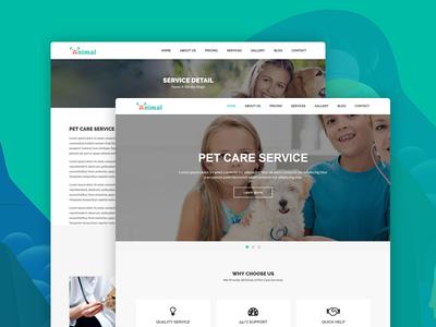 Animal – Pet Care HTML5 Template