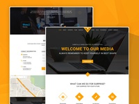 BootMedia – Multipurpose Agency PSD Template Freebie