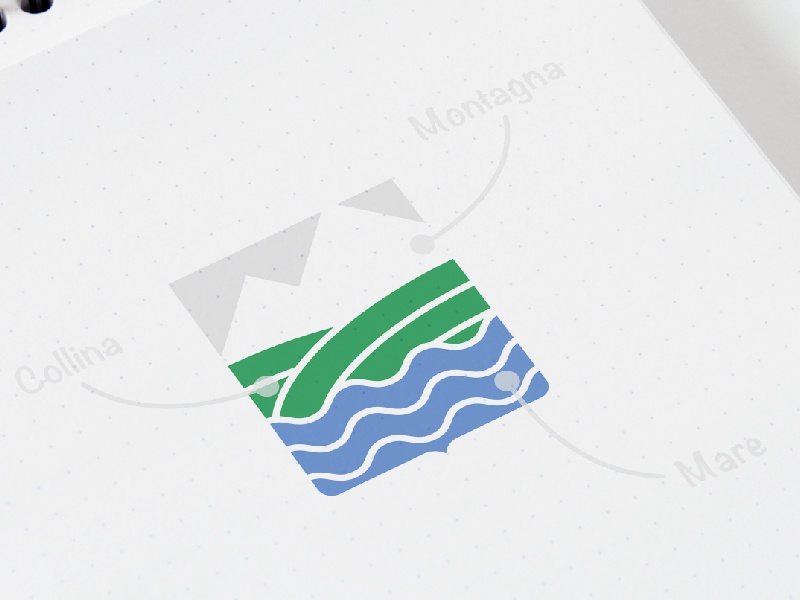 Abruzzo | Logo Concept by Luca Barassi on Dribbble