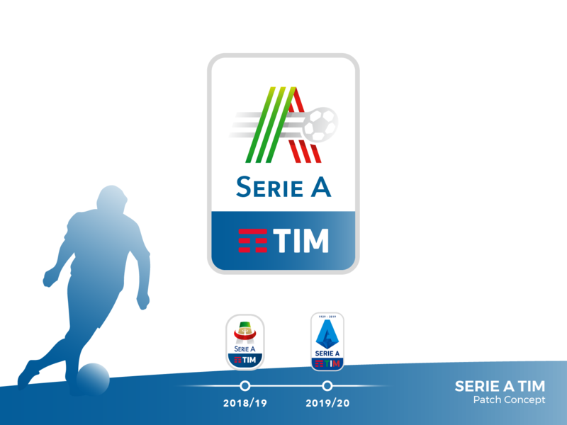 Serie A Tim Patch Concept By Luca Barassi On Dribbble