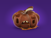 ChocoWEEN Pumpkin