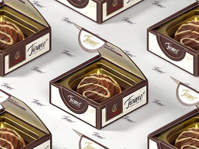 Isometric Chocolate tiamo cinema4d sweet sarotti box germanchocolate chocolate productshot isometric render octane